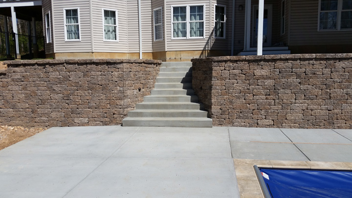 Versa Lok Mosaic Retaining Wall