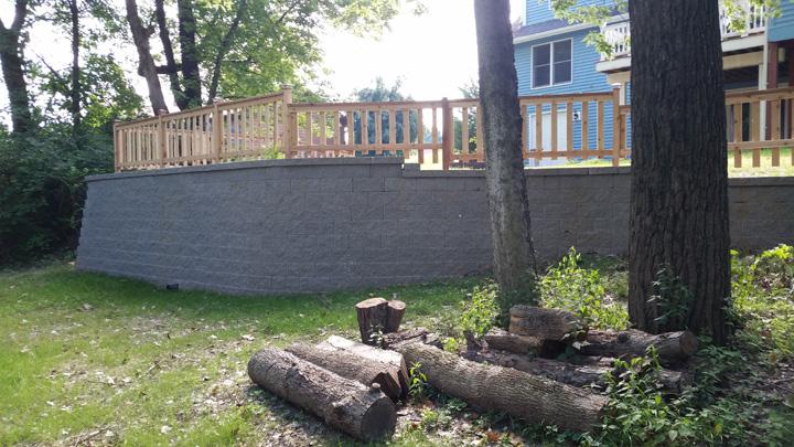 Erosion Control Landscaping Retaining Walls